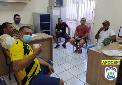 Reunião com os representantes das equipes